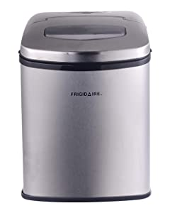 Compact Counter Top Ice Maker, Silver