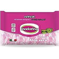 Inodorina Toallitas Refresh Aloe Vera, 40 Unidades