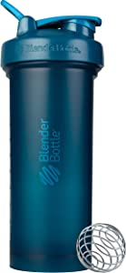 BlenderBottle C04437 Classic V2 Shaker Bottle, 45-Ounce, Ocean Blue