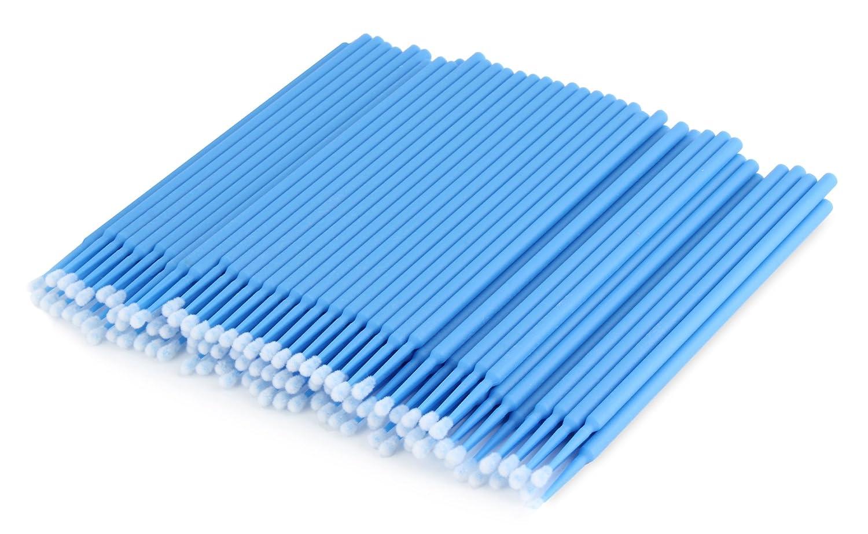 100 Unicorn Lashes - Microbürstchen für Wimpernverlängerung - Reinigungsstäbchen Unicorn Eyelashes