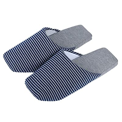 C.X Trendy Indoor Couple/Unisex Soft House Slippers, Cotton Slippers SPA Slippers