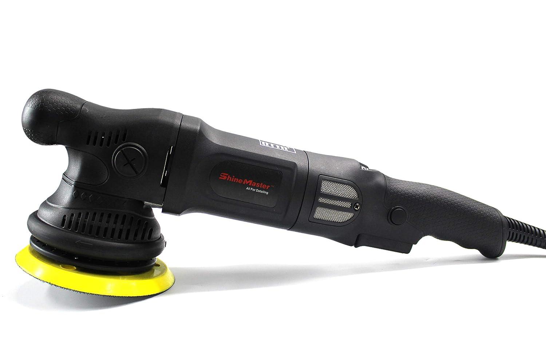 Maxshine ShineMaster 8mm/1000Watt M8 Pro DA Polisher-with Free Canvas Bags, 5' PU Hook&Loop Backing Plate 5 PU Hook&Loop Backing Plate