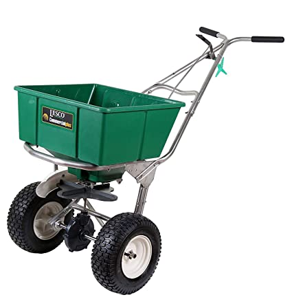 amazon com lesco high wheel fertilizer spreader with manual rh amazon com Commercial Walk Behind Mowers LESCO Commercial Walk Behind Mowers