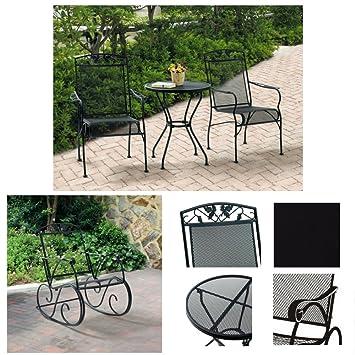 Amazon.com: 2 plazas, 3 piezas Bistro Set & porche mecedora ...