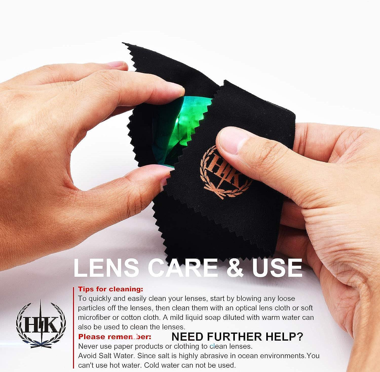 Hkuco Plus Mens Replacement Lenses For Costa Harpoon 2 pair