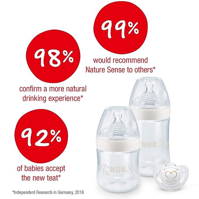 NUK Nature Sense. Talla:150 ml: Amazon.es: Bebé