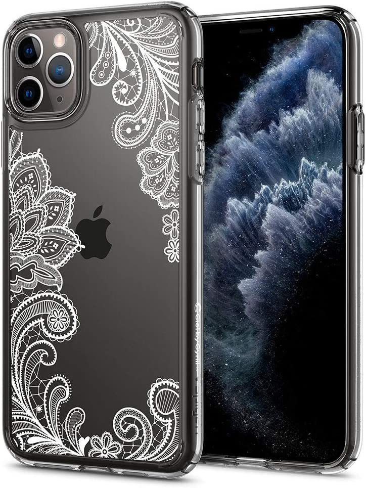 CYRILL Cecile Designed for Apple iPhone 11 Pro Case (2019) - White Mandala