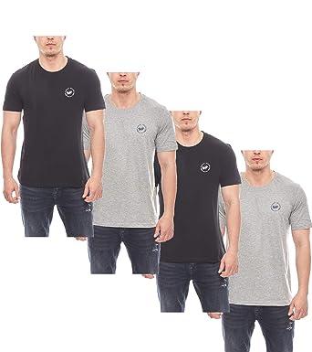 HARVEY MILLER POLO CLUB 4 Pack de Camisetas clásicas para Hombre ...