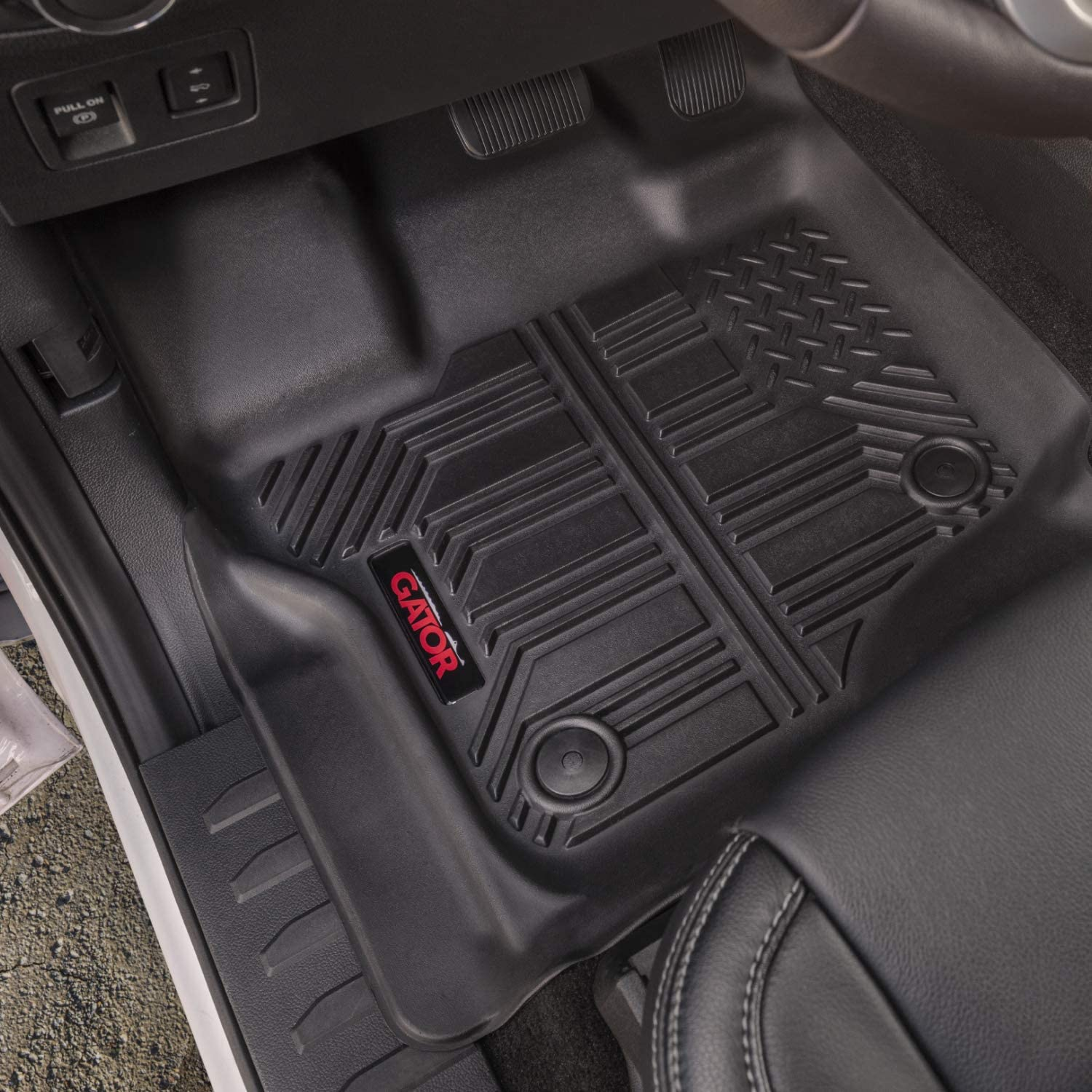 Gator 79609 Black Front and 2nd Seat Floor Liners Fits 15-19 Colorado//Canyon Crew Cab