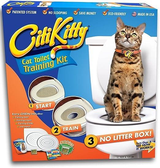 CitiKitty As Seen on Shark Tank Cat Toilet Training Kit