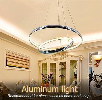 LUCKY CLOVER-A Lámpara de Techo de Cristal de Aluminio de ...