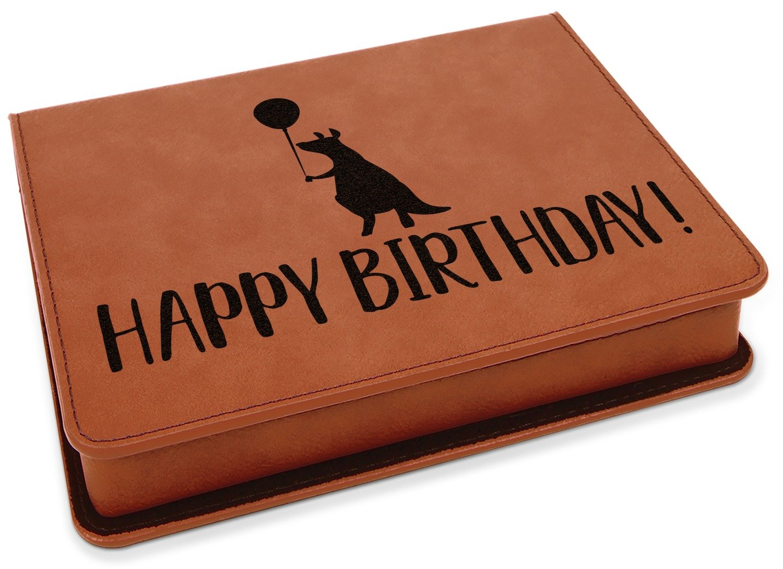 Animal Friend Birthday Leatherette 4-Piece Wine Tool Set (Personalized)