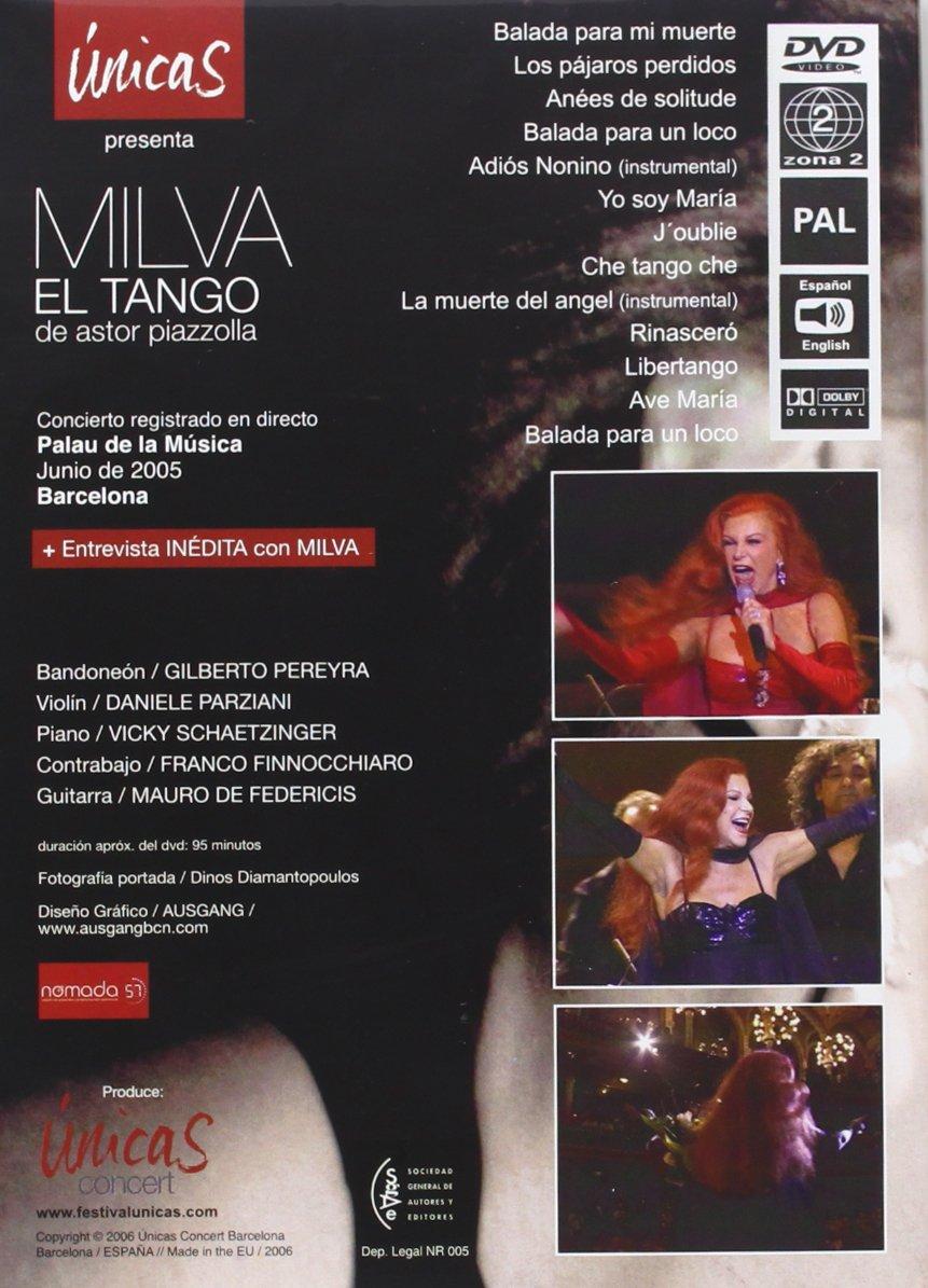 Milva - El Tango de Astor Piazzolla [Alemania] [DVD]: Amazon.es ...