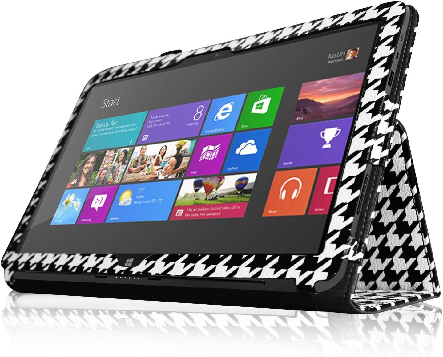 passt Nicht f/ür Windows 8 Pro, inkl. Eingabestift-Halterung Schwarz Surface 2 // Surface RT ZZ Braun//Schwarz , Fintie Schutzh/ülle f/ür Microsoft Surface RT//Surface 2 mit 25,7 cm 10,6 Zoll