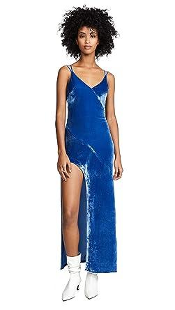 a0f2fdb74d Amazon.com  For Love   Lemons Women s Nadine Velvet Maxi Dress  Clothing