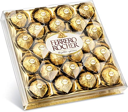 Oferta amazon: Ferrero Rocher - 24 Chocolates Box - 300g