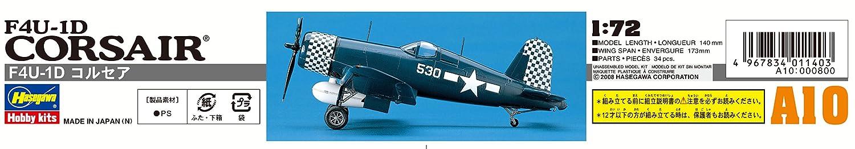 HASEGAWA 00140 1//72 F4U-1D Corsair