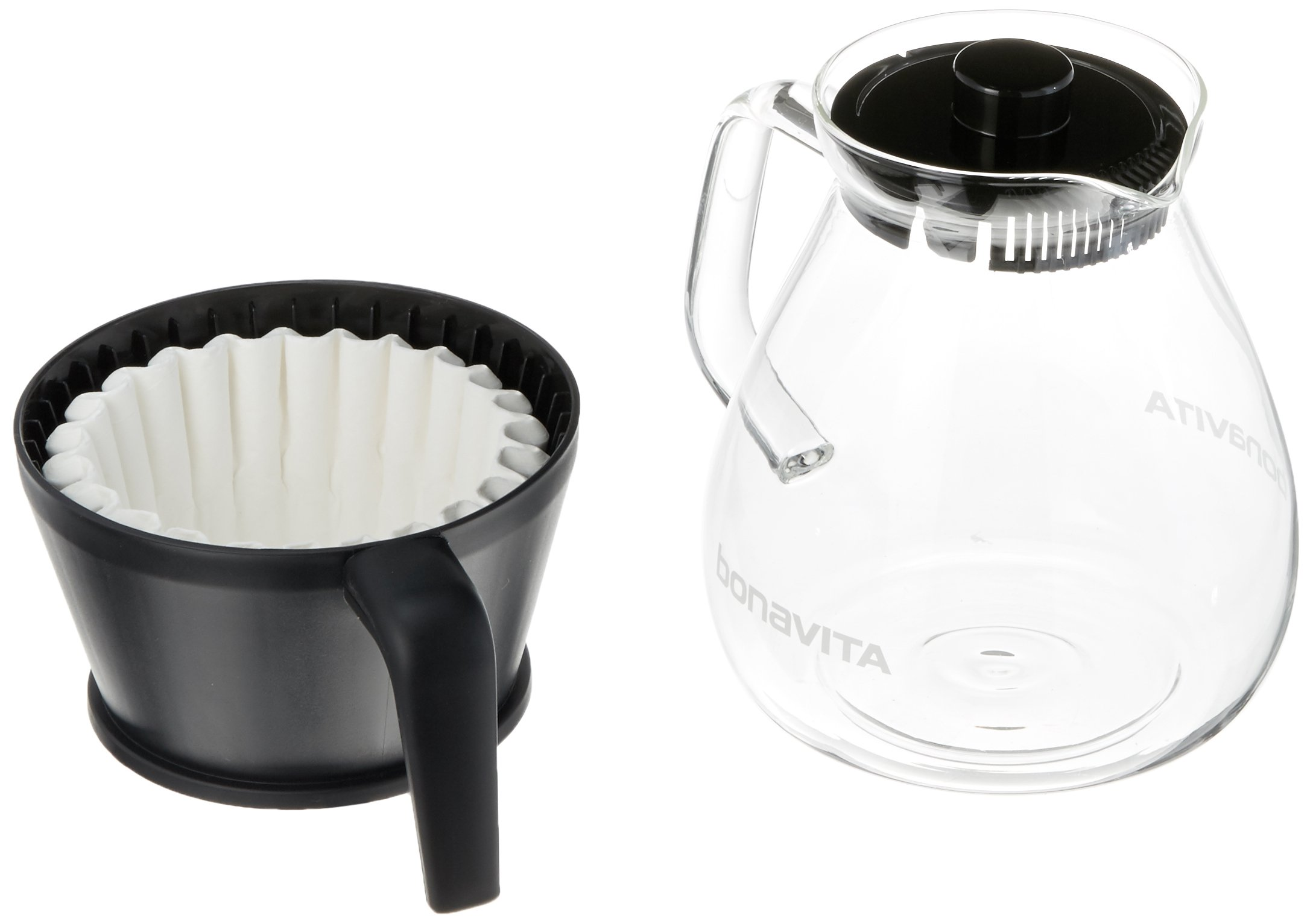 Bonavita BV1901GW 8-Cup One-Touch Coffee Maker Featuring Glass Carafe and Warming Plate by Bonavita (Image #2)