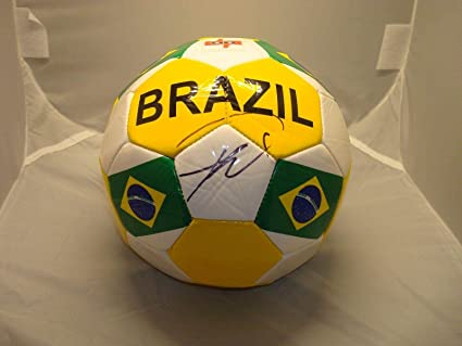 Image Unavailable. Image not available for. Color  Ricardo Kaka Signed Team  Brazil Soccer Ball COA Autographed ... 43a848ec6