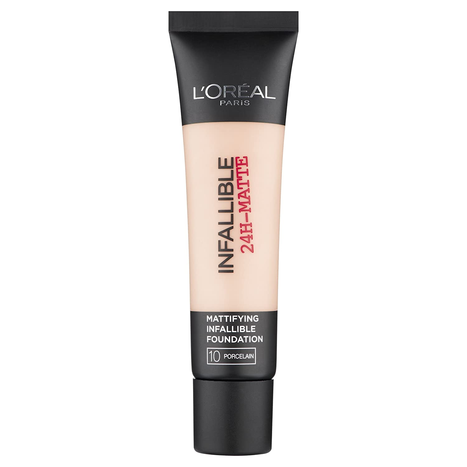 L'Oréal Infallible 24H Matte Foundation, 10 Porcelain, 30 ml L'Oréal Paris 3600522875208