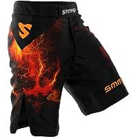 SMMASH Diablo Pantalones Cortos de Deporte para Hombre