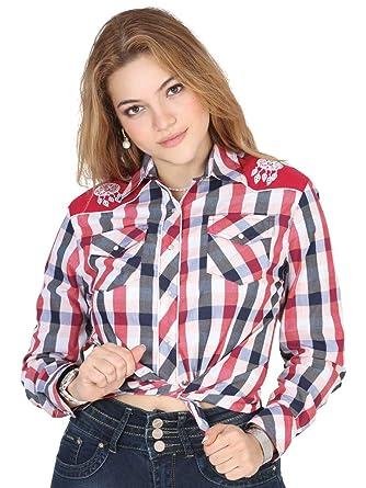 Camisa Vaquera Dama (Ma/LargaD) El General Francia ID 40473 (M)