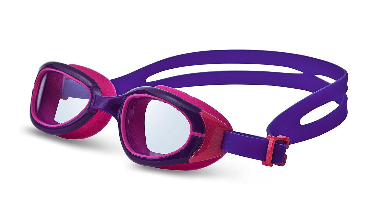 Jancostaアンチフォグの水泳ゴーグル子供用 B00SPNHOXU Purple-Red