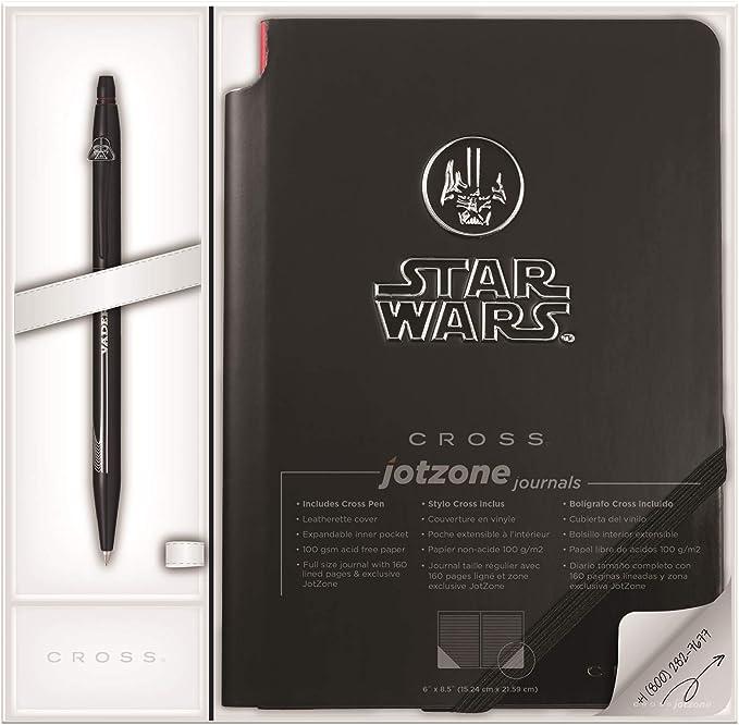 Cross Star Wars Special Edition Click Gel Rollerball Pen /& Jotzone Journal Set