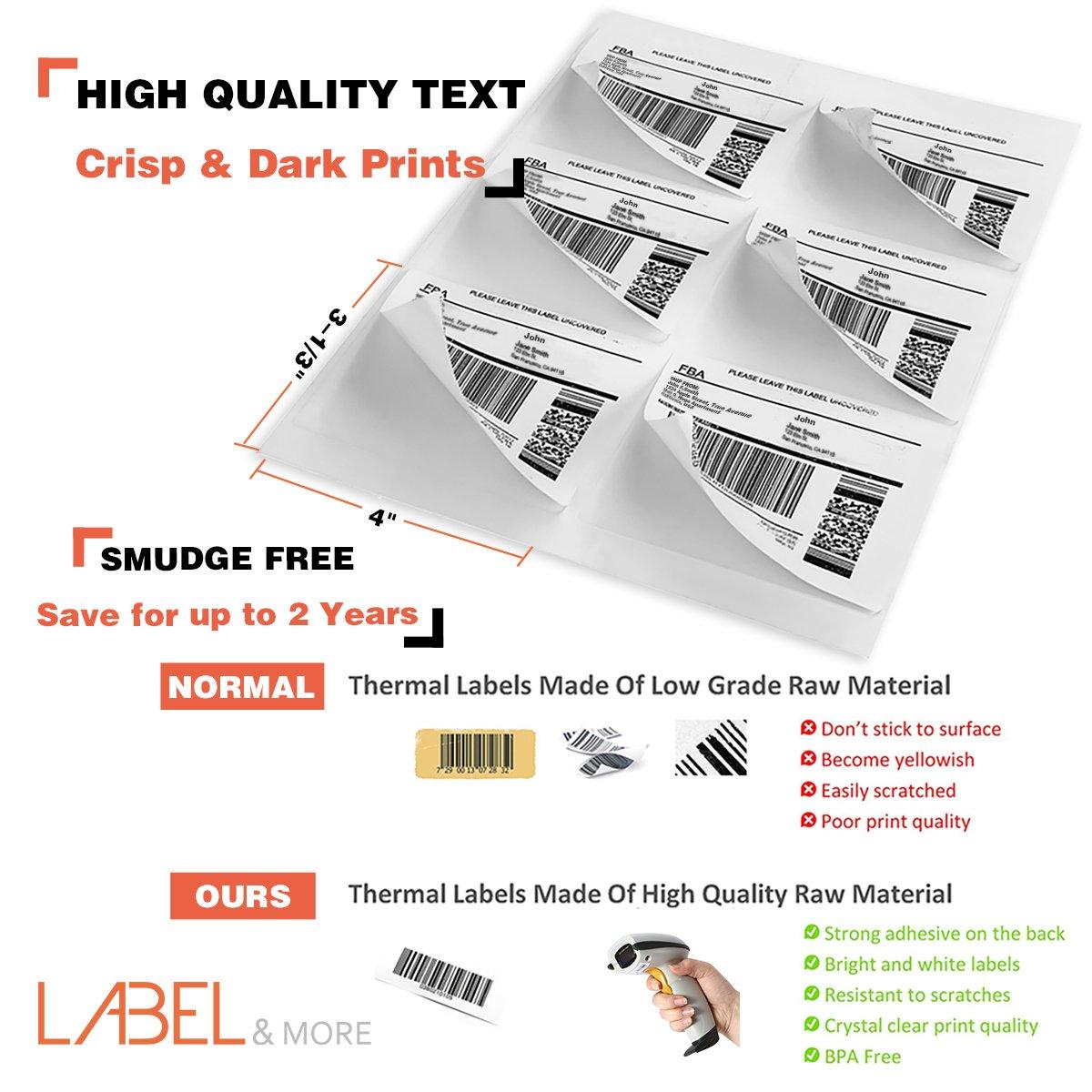Full Sheet Labels for Laser and Inkjet Printer 8 5x11 Labels
