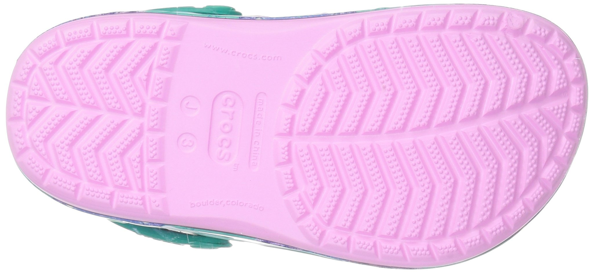 Crocs Unisex-Kids  CB Princess Ariel Clog K , carnation , C10 M US Toddler by Crocs (Image #3)