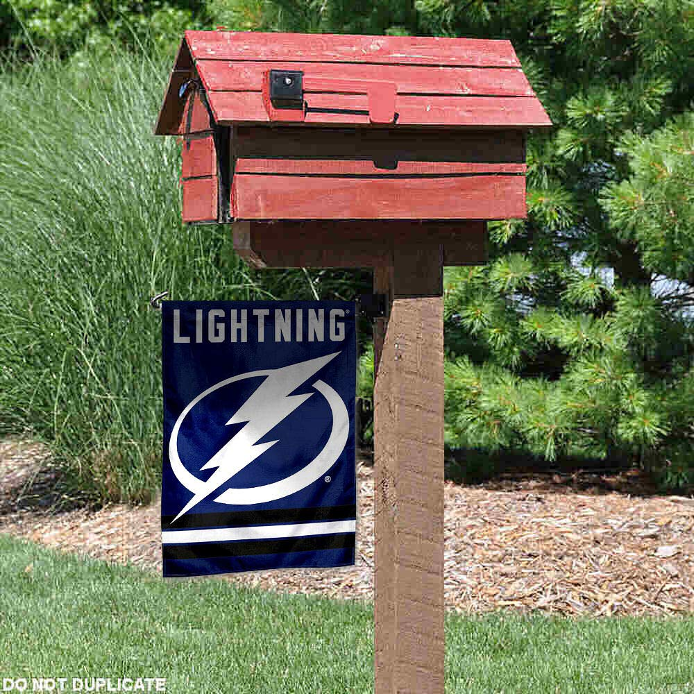 WinCraft Tampa Bay Lightning Double Sided Garden Flag