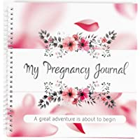 My Pregnancy Journal and Baby Memory Book with Stickers - Baby Scrapbook and Photo Album - Perfect Pregnancy Gifts for…