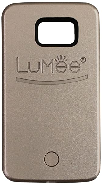 new arrival 00ef2 eac27 LuMee, Illuminated Cell Phone Case for Samsung Galaxy S6 - Rose Gold