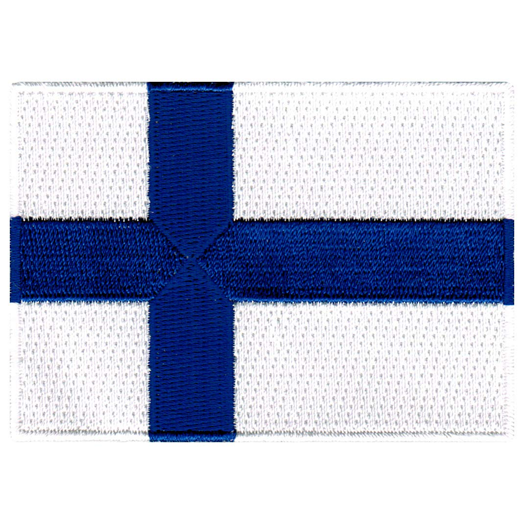 b351b40c16f7 Finland Flag Embroidered Patch Finnish Iron-On National Emblem