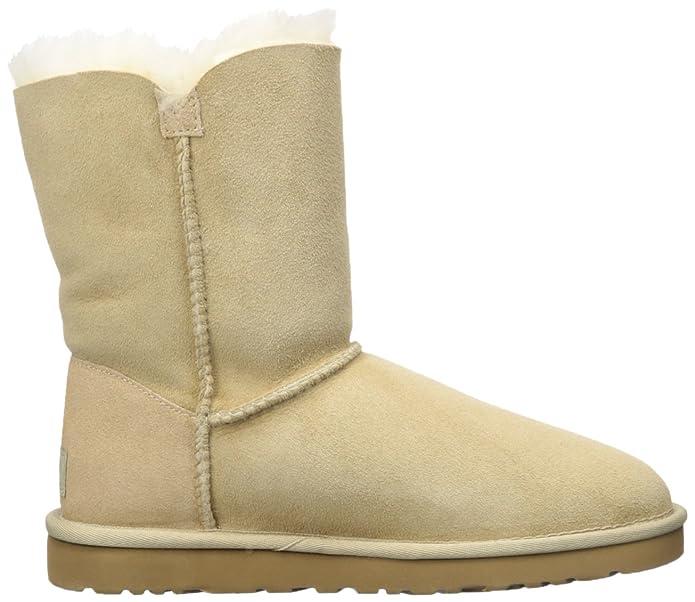 UGG Bailey Button 5803 - Botas Planas Mujer, Beige (Beige/sable), 36: Amazon.es: Zapatos y complementos