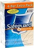 Safeguard Antibacterial Deodorant Soap Beige 16 oz, 4 bars