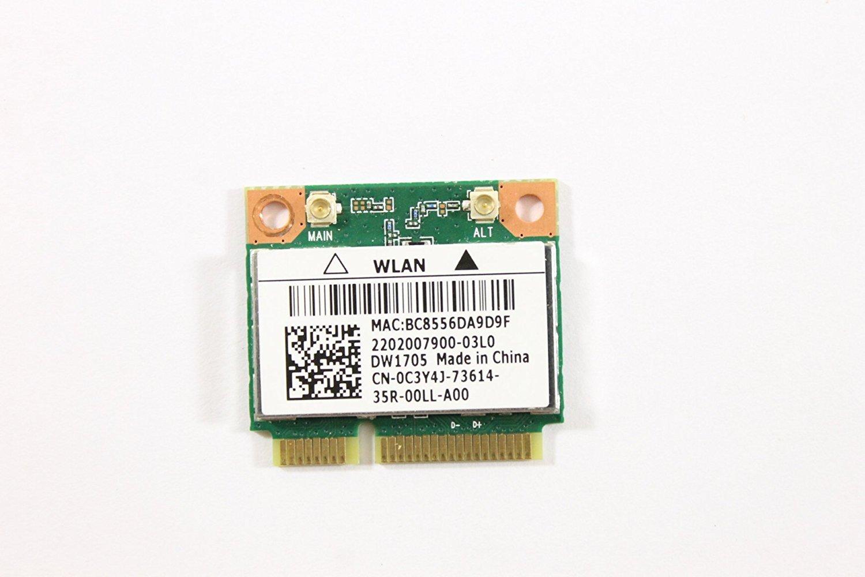 Amazon.com: DELL mini PCI Express Tarjeta de c3y4j WLAN wifi ...