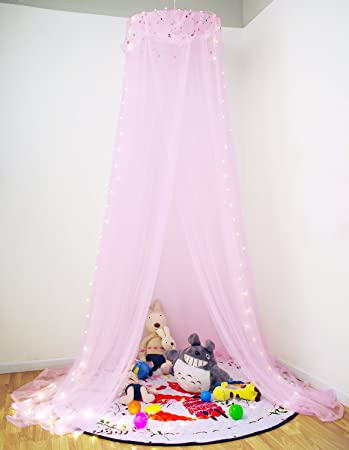 Loisleila Mosquitera de Dosel de la Cama de Elegante