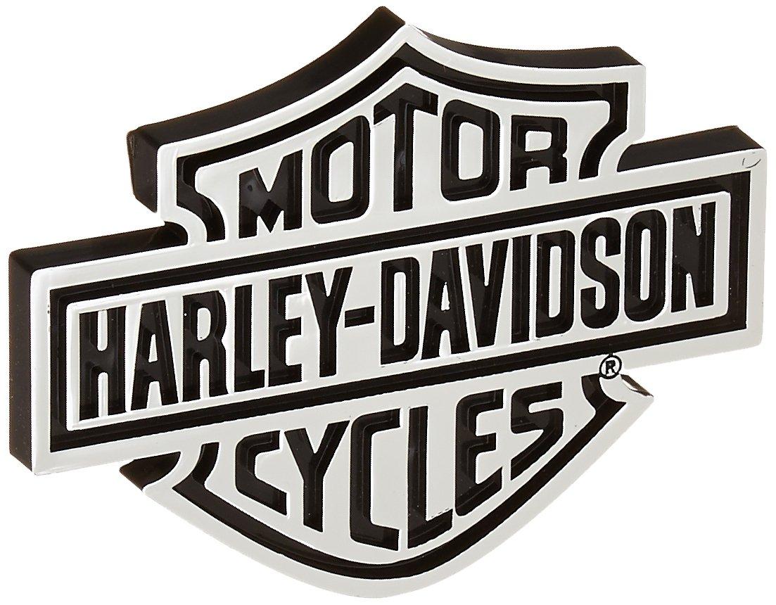 Chroma 9107 Harley-Davidson Injection Molded Emblem Decal