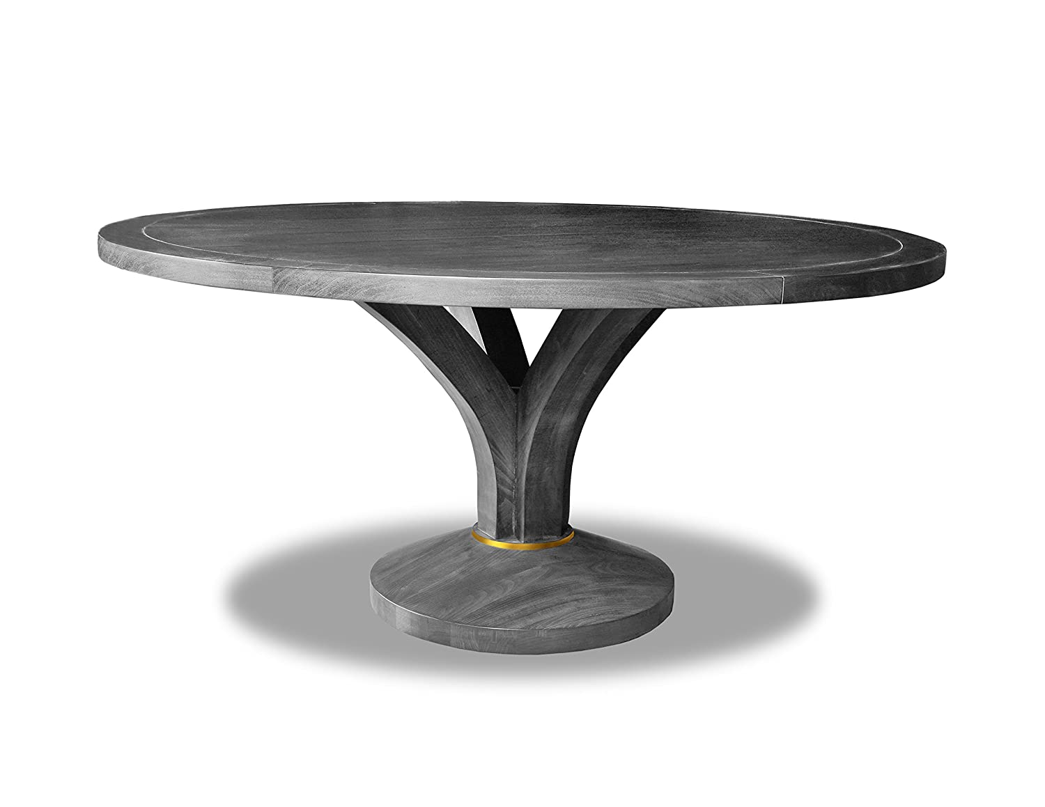 4dcaaff7534bb Amazon.com - South Cone Home GIANDN Gianna Round Dining Table 60