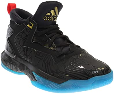d473bc16b82b adidas Mens D Lillard 2 Athletic   Sneakers Black