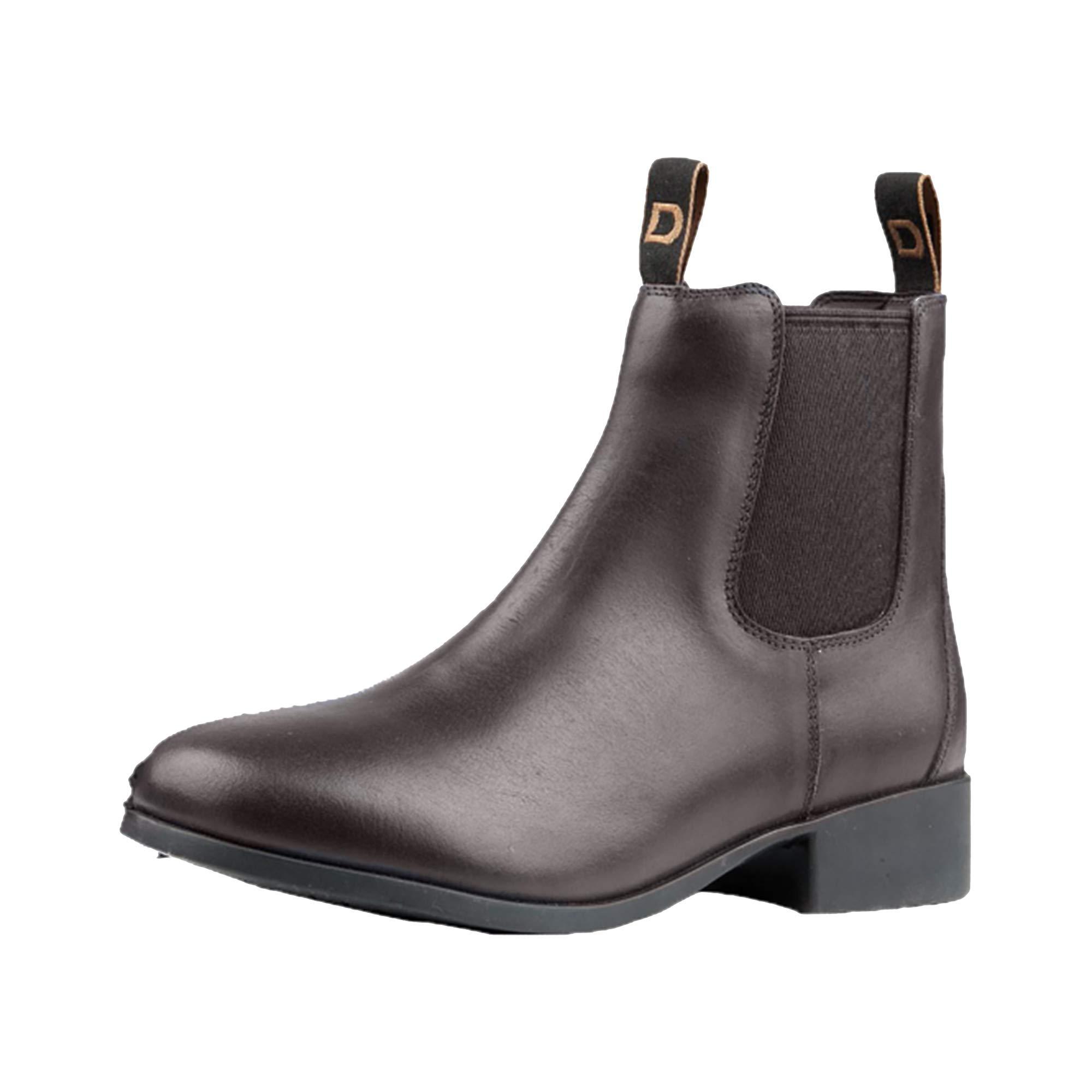 Dublin Childrens/Kids Leather Foundation Jodhpur Boots (3 M US Little Kid) (Brown)