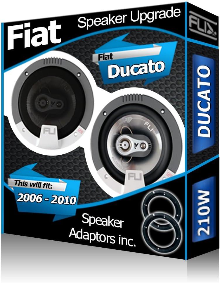 Adaptateur pour Haut-Parleur gousses 210/W FLI Porte arri/ère Fiat Croma Orateurs Haut-parleurs de Voiture