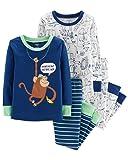 Carter's Toddler Boys 4 Pc Pajama PJs Sleep Play