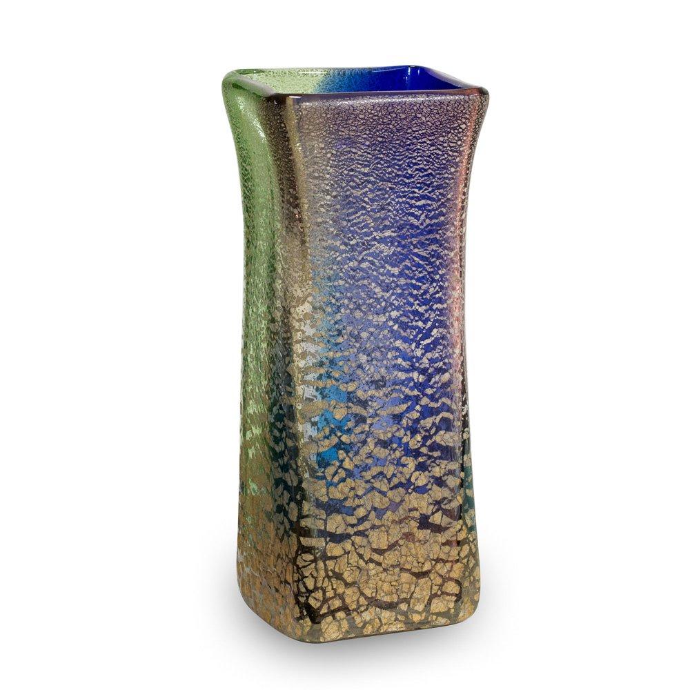 琉球ガラス 花瓶(中) 稲嶺盛吉作 B00I68F64S