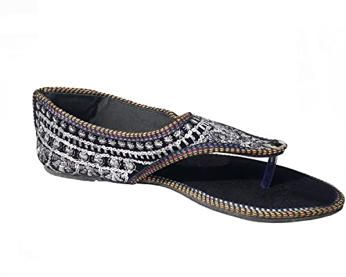 6e2a06f82 Port Women's Rajasthani Jutti (Size 10 Ind/UK): Buy Online at Low ...