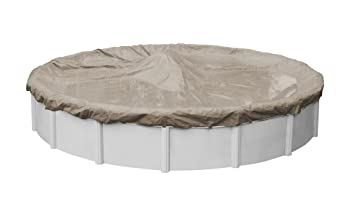 Pool Mate 24ft Round Sandstone Above Ground Pool Cover