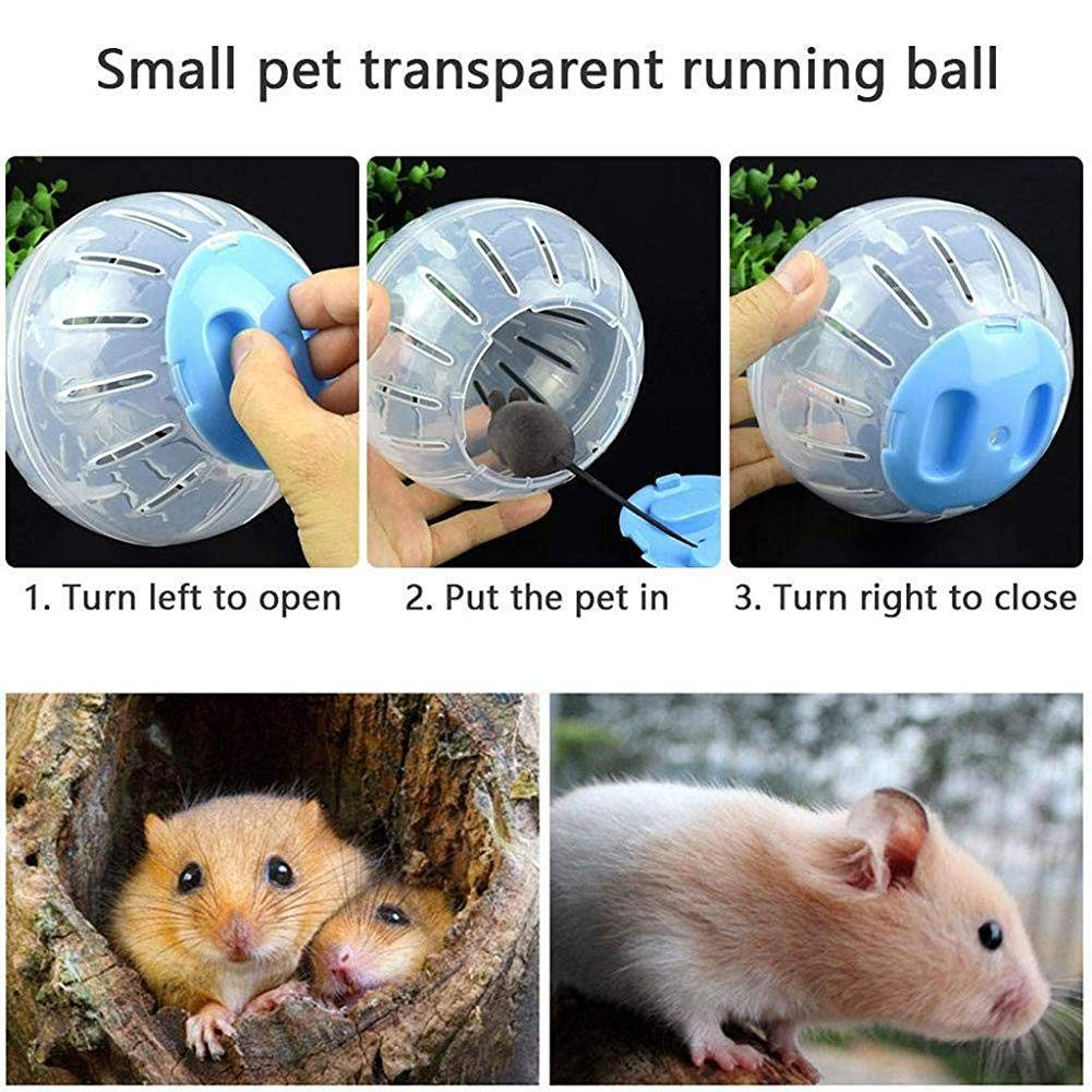 Nai-Style Useful Toy Hamster Running Exercise Wheel Ball Small Animals Chinchillas Rat Mouse Play Area Toys Cage Supplies