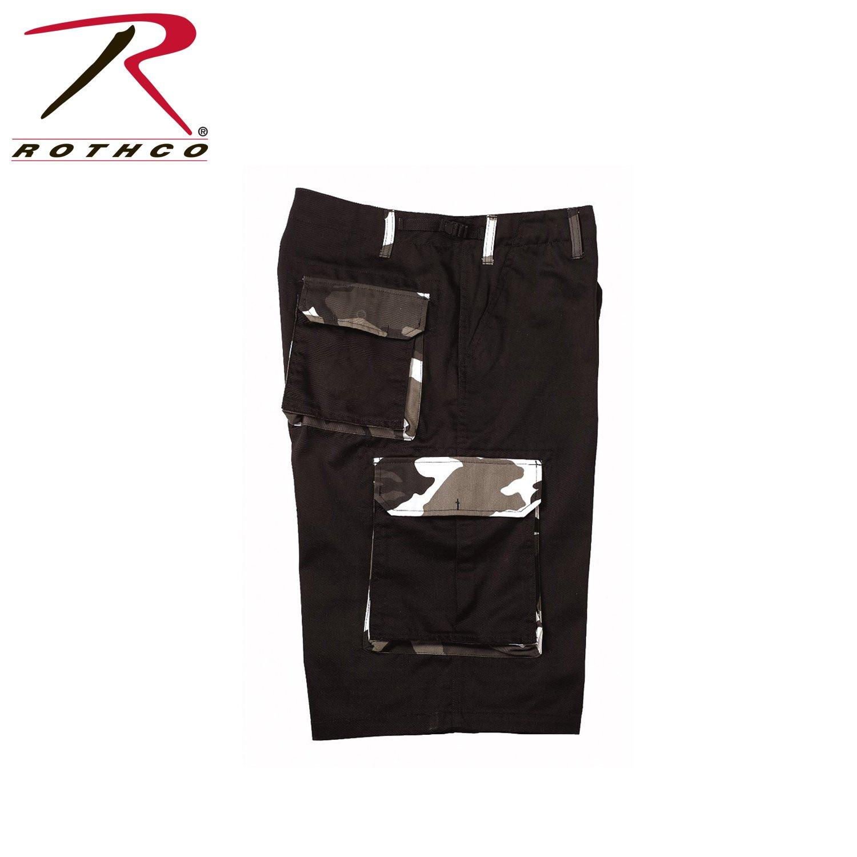Rothco Rigid Accent Longer Short, Black, Large