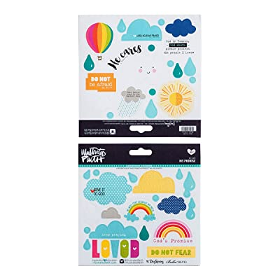 Illustrated Faith - Stickers - His Promise: Office Products